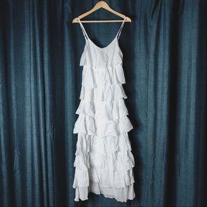 🌻MOVING SALE🌻 Laffaire Ruffled Maxi Dress
